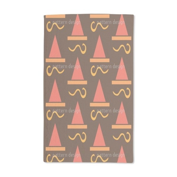 Hat Deco Hand Towel (Set of 2)