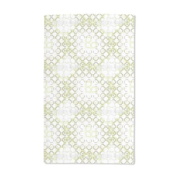 Green Stations Hand Towel (Set of 2)