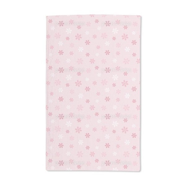 Winter Snowflake Love Hand Towel (Set of 2) 20597070