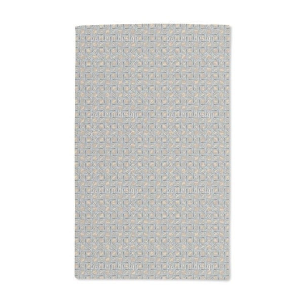 Exemplary Grid Hand Towel (Set of 2)