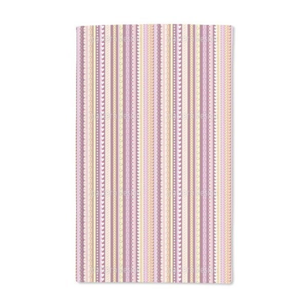 I Love Stripes Hand Towel (Set of 2)
