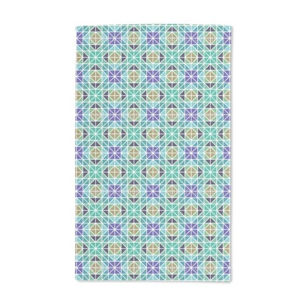 Geometric Parts Hand Towel (Set of 2)