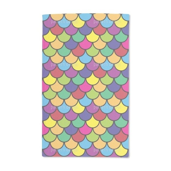 Vibrant Scales Hand Towel (Set of 2)