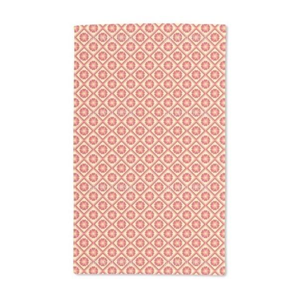 Floral Tiles Hand Towel (Set of 2)