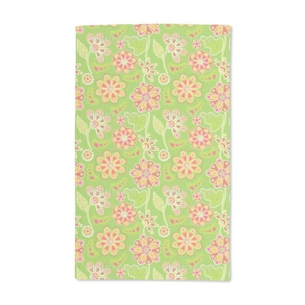Floral Magic Hand Towel (Set of 2)