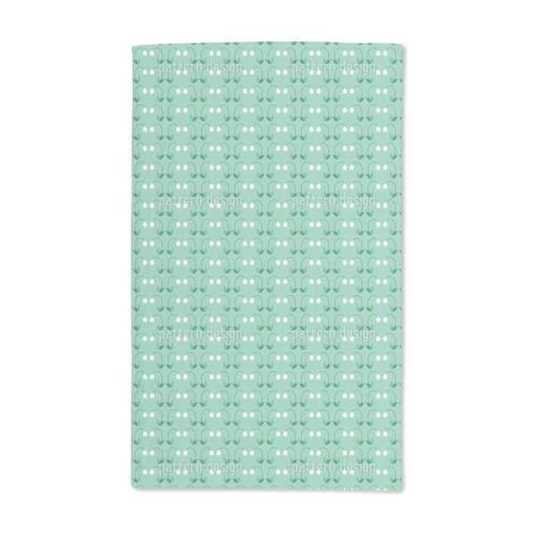 Snowdrop Greeting Hand Towel (Set of 2)