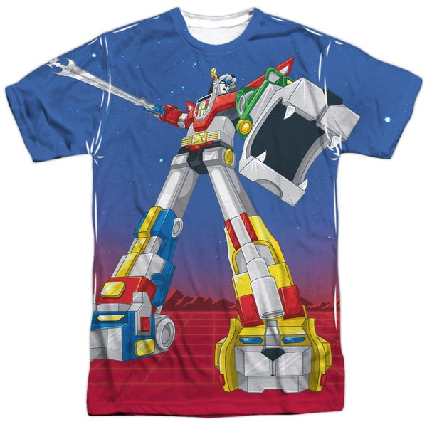 Voltron/Form Voltron Short Sleeve Adult Poly Crew in White