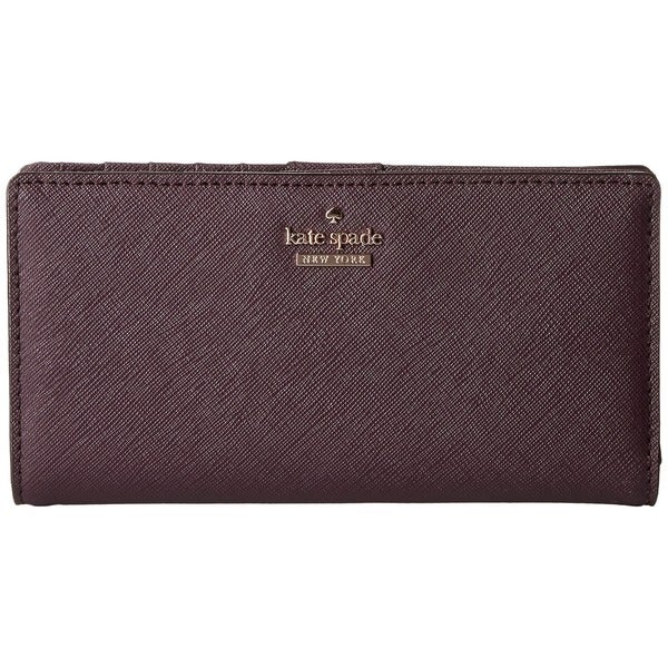 Kate Spade New York Cameron Street Stacy Mahogany Wallet