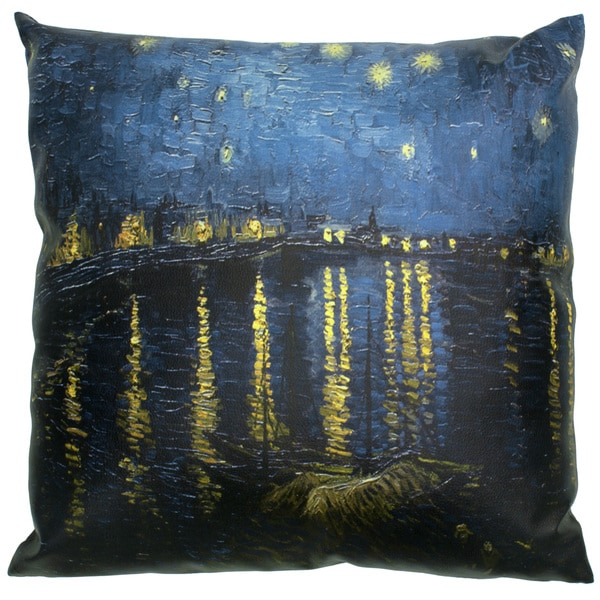 Van Gogh Over the Rhone Pillow (China)