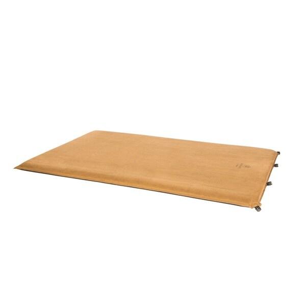 Kamp-RIte Tan Microsuede Polyester Self-inflating Pad