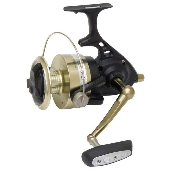 Fin-Nor Black Aluminum Fishing Reel