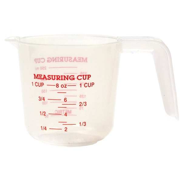 Norpro 3035 1 Cup Plastic Measuring Cup