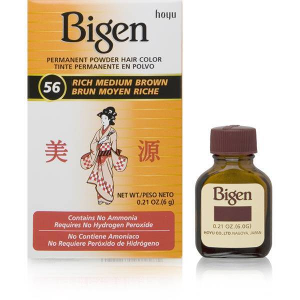 Bigen Rich Medium Brown Powder Hair Color
