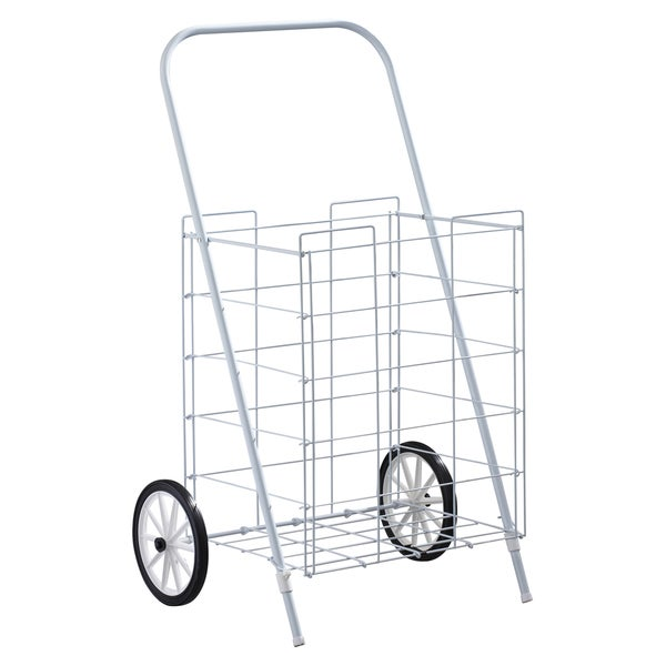 Homz 4670004 2 Wheel Medium Capacity Tote Cart