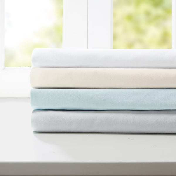 Sleep Philosophy Modal Jersey Pillowcases 4-Color Option