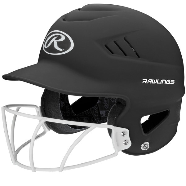 Rawlings Coolflo Highlighter Softball Helmet/Face Guard
