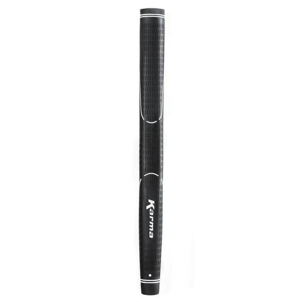 Karma Velour Standard Black Rubber Pistol Putter Grip