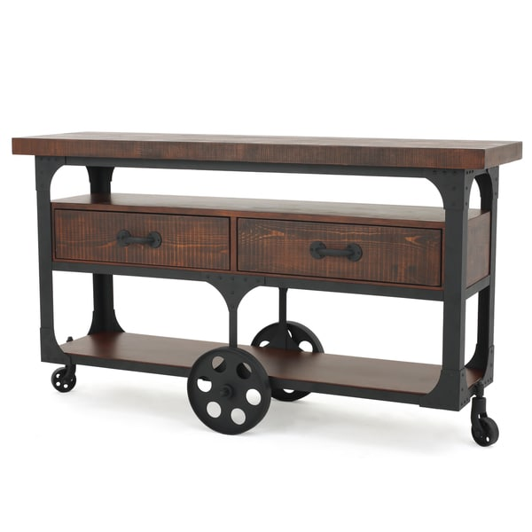 Christopher Knight Home Livana Wood TV Console Stand with Drawers