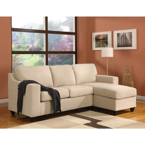 Vogue Microfiber Sectional Sofa