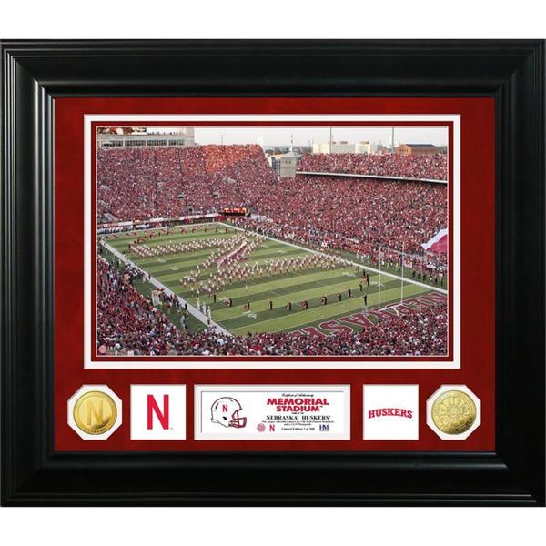 University of Nebraska Special Edition Gold Coin Photo Mint