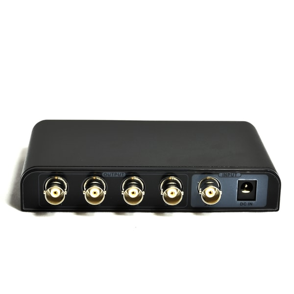 OREI SDI-104 1x4 Powered SDI Splitter - Supports HD-SDI, SD-SDI, and 3G-SDI Signals (1 Input, 4 Output)