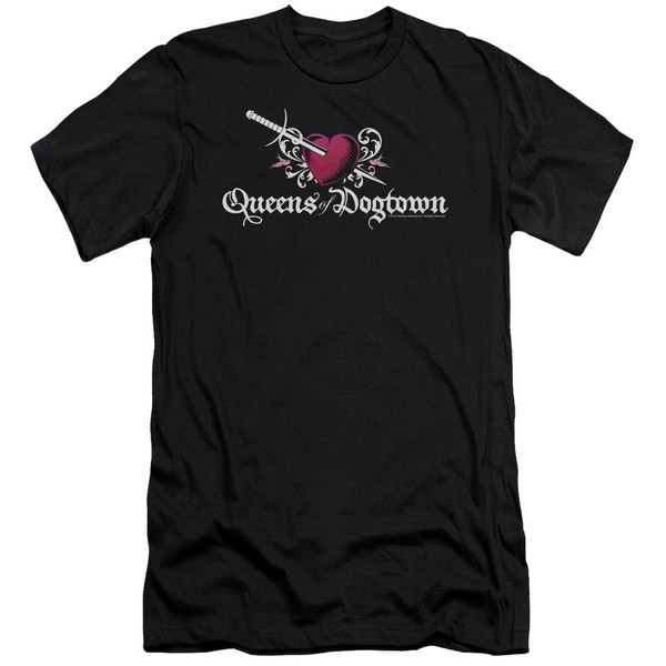Californication/Queens Of Dogtown Short Sleeve Adult T-Shirt 30/1 in Black
