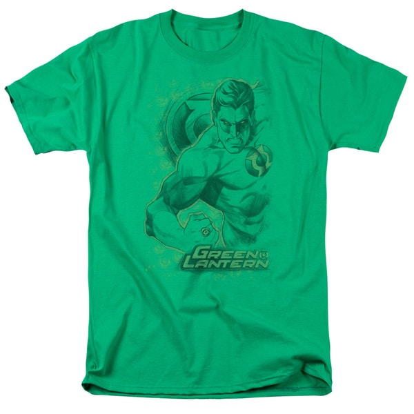 DC/Pencil Energy Short Sleeve Adult T-Shirt 18/1 in Kelly Green