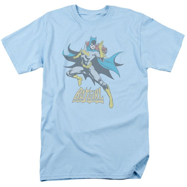 DC/See Ya Short Sleeve Adult T-Shirt 18/1 in Light Blue