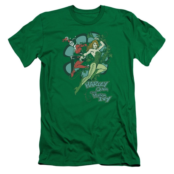 DC/Harley and Ivy Short Sleeve Adult T-Shirt 30/1 in Kelly Green