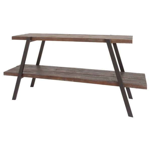 Brosnan Wood/Metal TV Stand