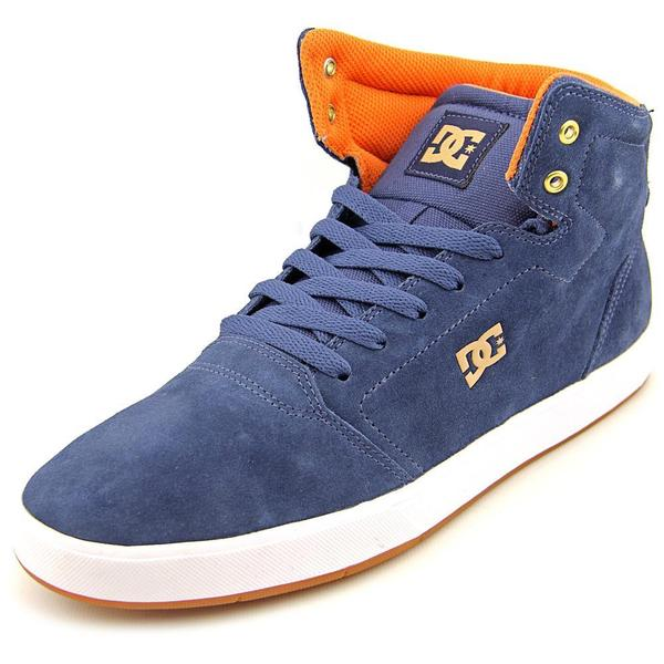 DC Shoes Men's 'Crisis High' Blue Regular Suede Athletic Shoes