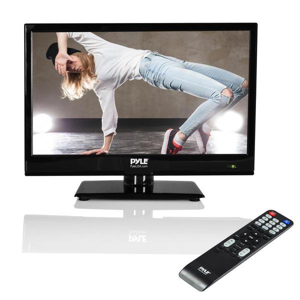 Pyle PTVLED15 15.6-inch HD Black Flat-screen LED TV