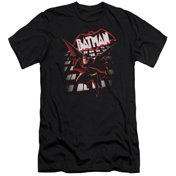 Beware The Batman/From The Top Short Sleeve Adult T-Shirt 30/1 in Black