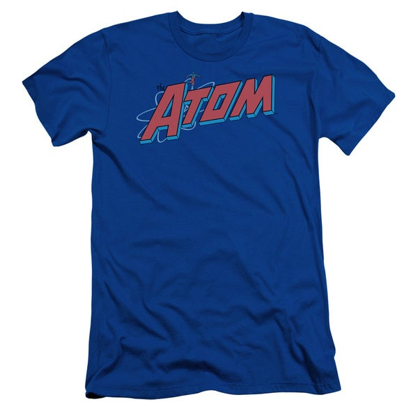 DC/The Atom Short Sleeve Adult T-Shirt 30/1 in Royal Blue
