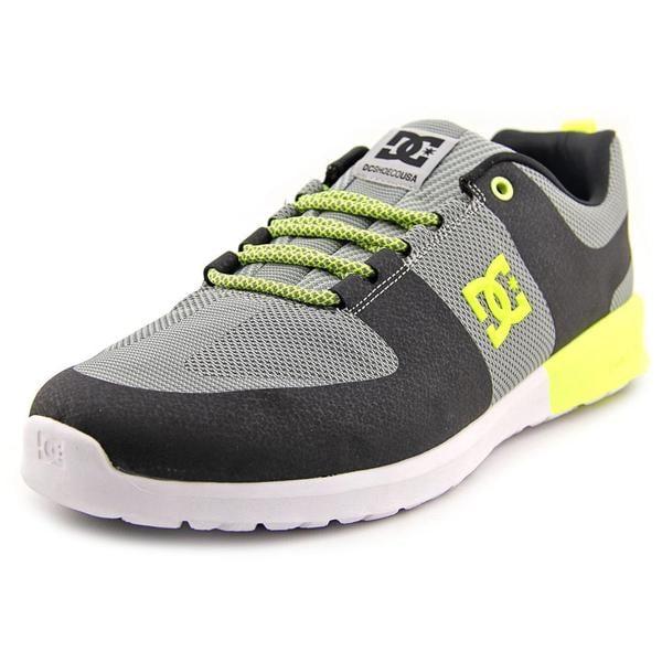 DC Shoes Men's 'Lynx Lite R' Grey Basic Textile Athletic Shoes