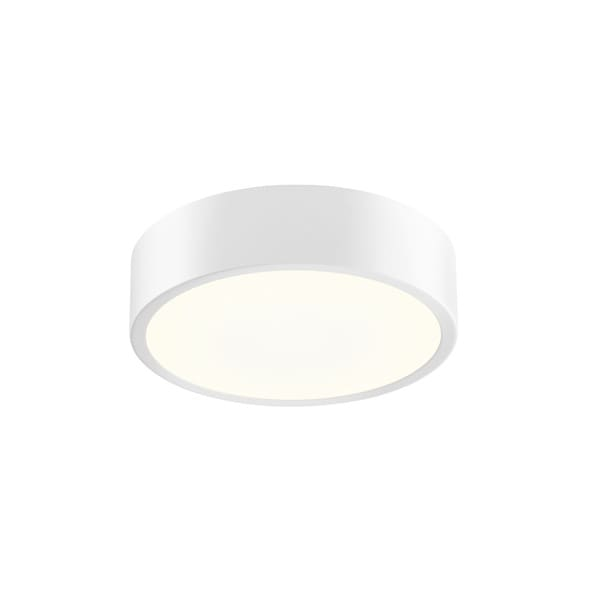 Sonneman Lighting Pi Textured White 8-inch LED Surface Mount