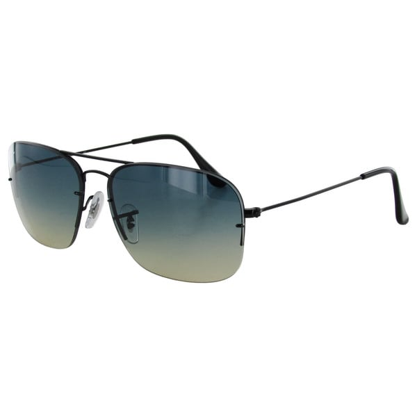 Ray Ban Tech Womens RB3482 Semi Rimless Aviator Sunglasses