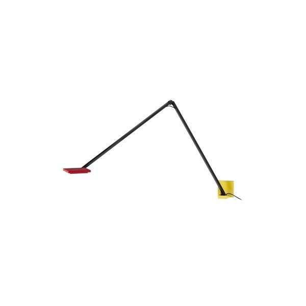Sonneman Lighting Quattro Red/Yellow with Black LED Wall Sconce