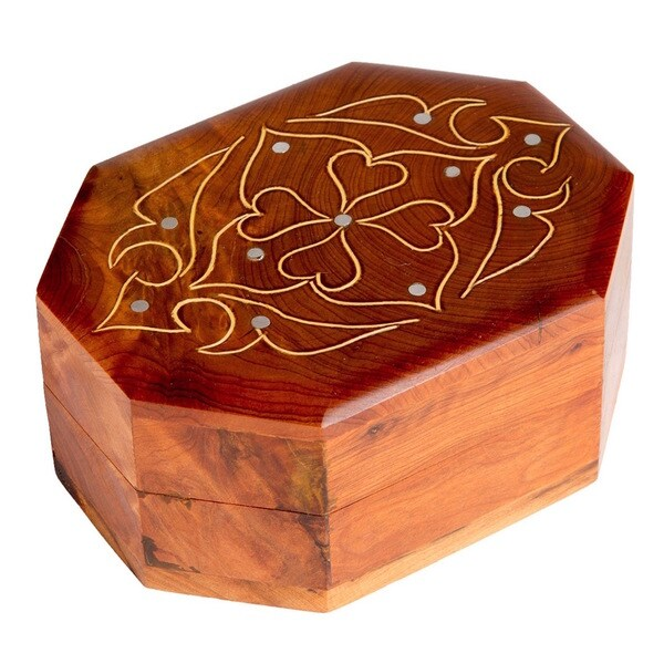 Octagonal Inlaid Box (Morocco)