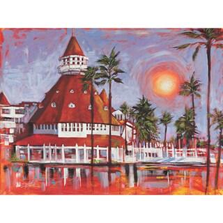Stephen Fishwick 'Hotel Del Coronado' Fine Art Giclee