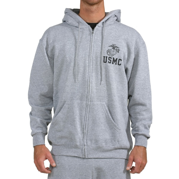 High Performance EGA USMC Zip Hoodie 20639803