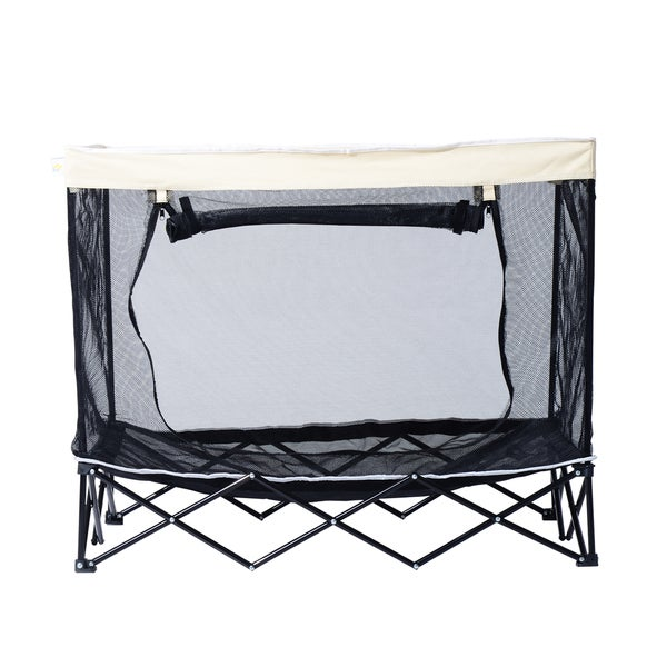 Pawhut 40-inch Elevated Pet Cot Bed