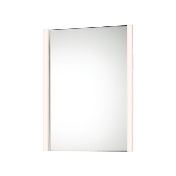 Sonneman Lighting Vanity Polished Chrome Slim Vertical LED Mirror Kit