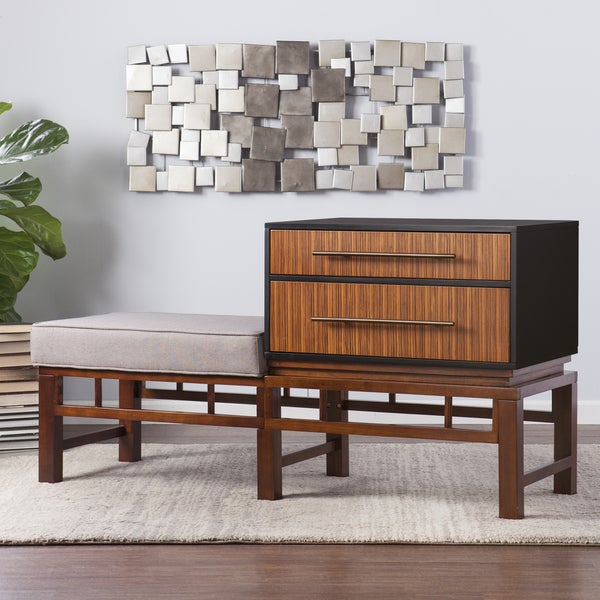 Holly & Martin Brock Storage Bench