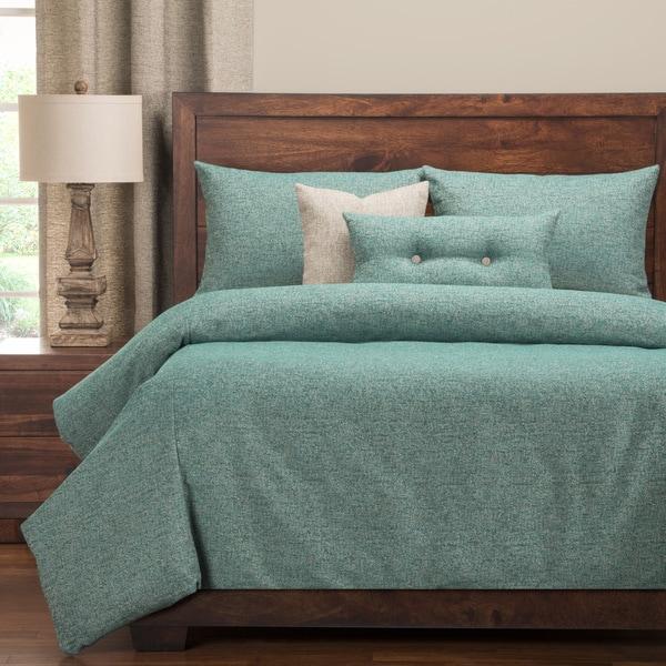 PoloGear Belmont Turquoise Luxury Duvet Cover Set