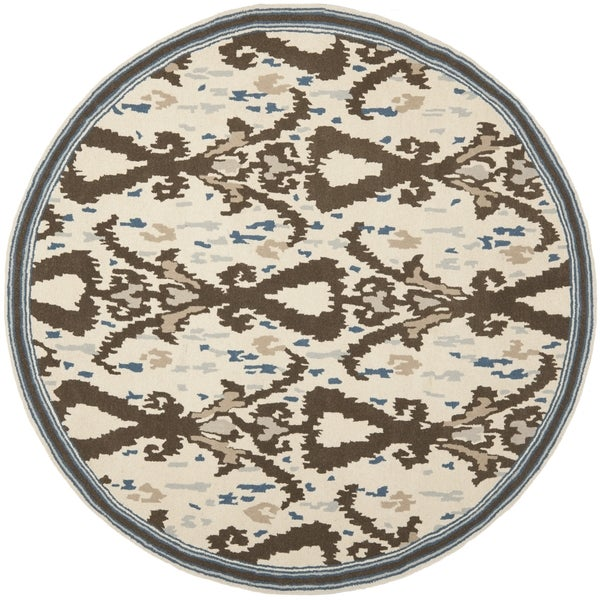 Safavieh Martha Stewart Collection Clove Wool Rug (8' Round)