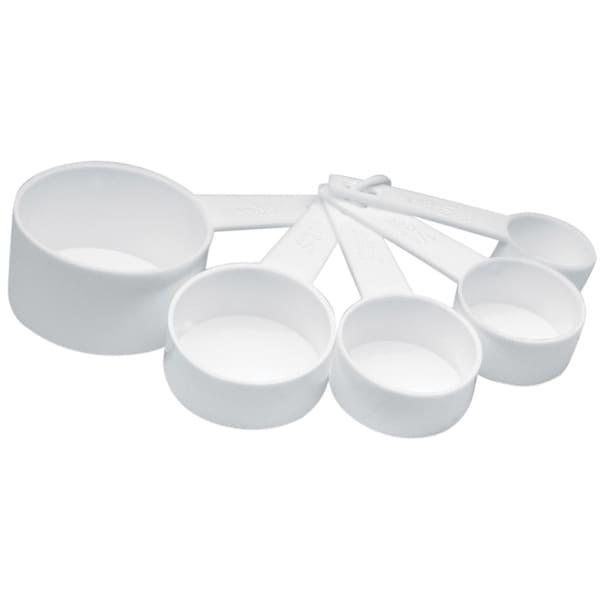 Norpro 3044W 5 Piece Plastic Measuring Cup Set 20641545