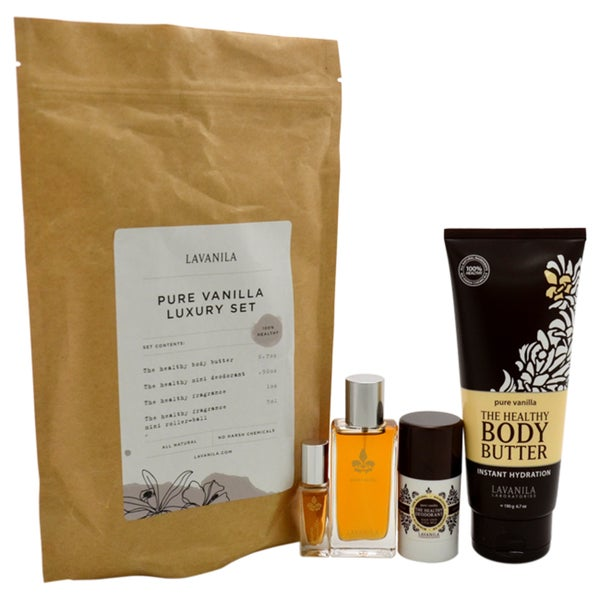 Lavanila Pure Vanilla Luxury Women's 4-piece Gift Set