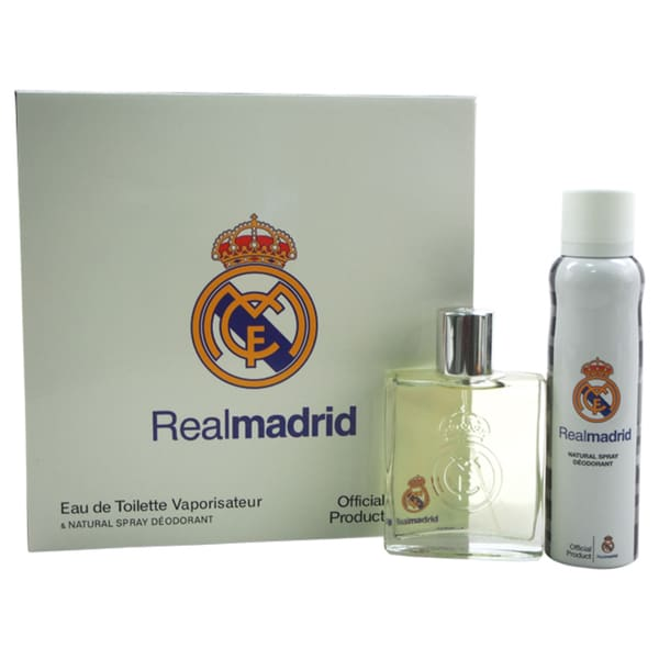 Real Madrid Men's 2-piece Gift Set