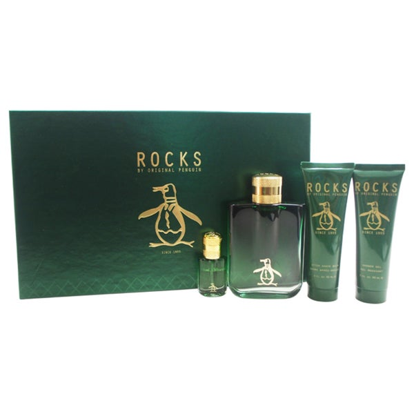 Penguin Rocks Original Men's 4-piece Gift Set